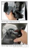 Nereus Pokrowiec Wodoszczelny na lustrzankę + lampa błyskowa