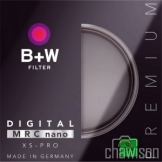 B+W 72mm UV XS-Pro Nano Made in Germany