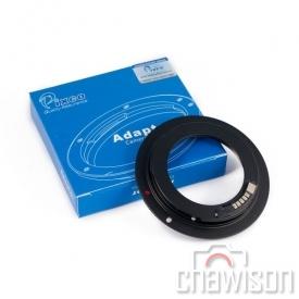 Adapter  Pixco EOS-M42 AF-3 + potw. ostrości Canon 5D III 6D 70D