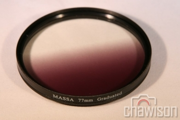 Filtr Szary Połówkowy Kołowy 55mm ND4