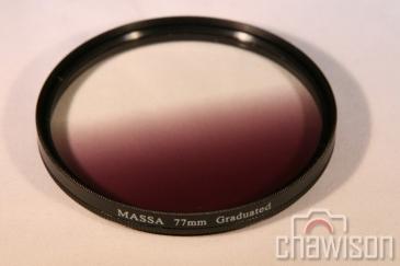 Filtr Szary Połówkowy Kołowy 77mm ND4